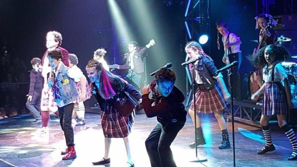 Harry Vallance School Of Rock Playing Billy London