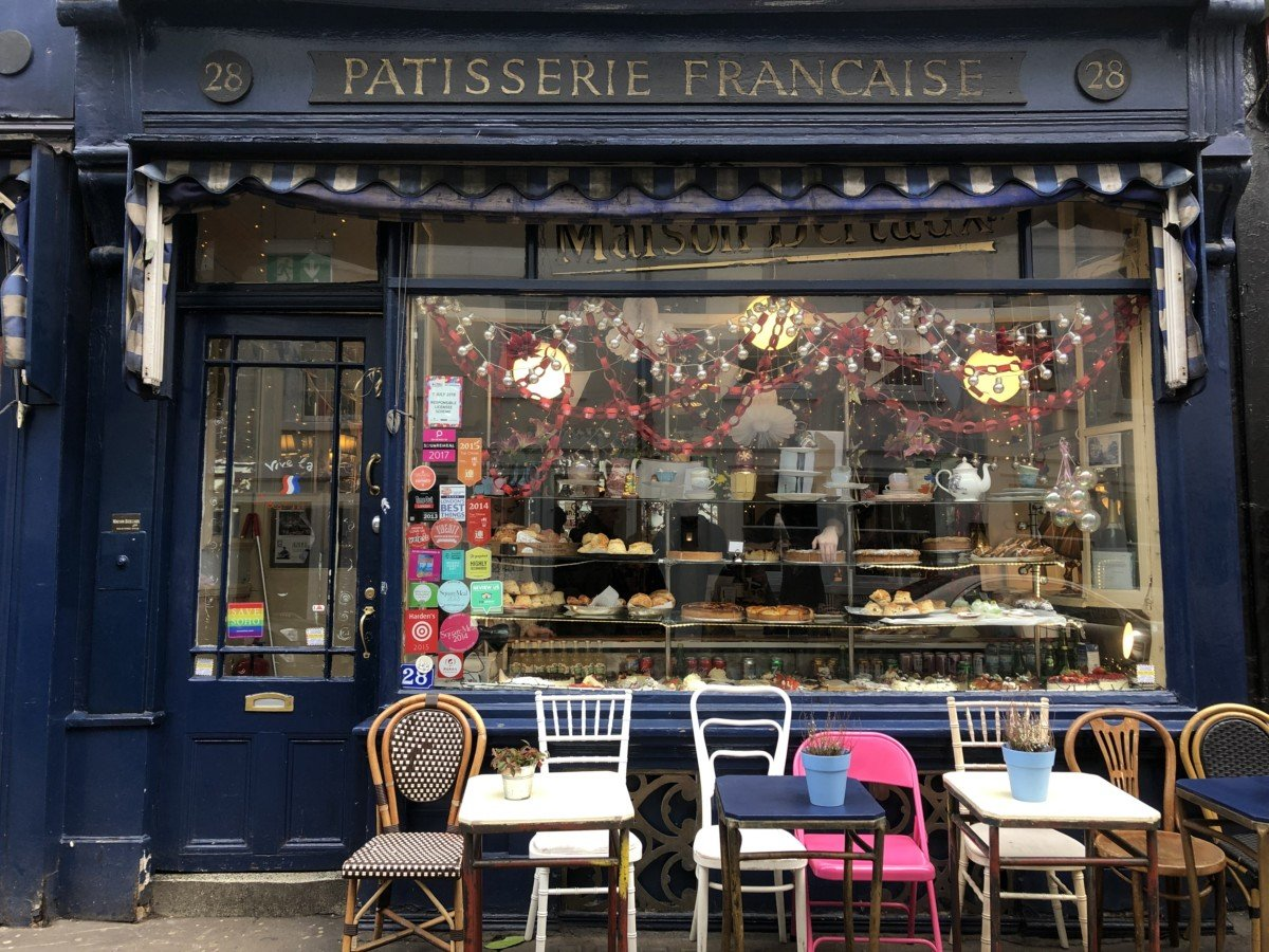If you want to find a cute french cafe with fresh cream cakes then you shouldhead over to Maison Bertaux for pure indulgence!