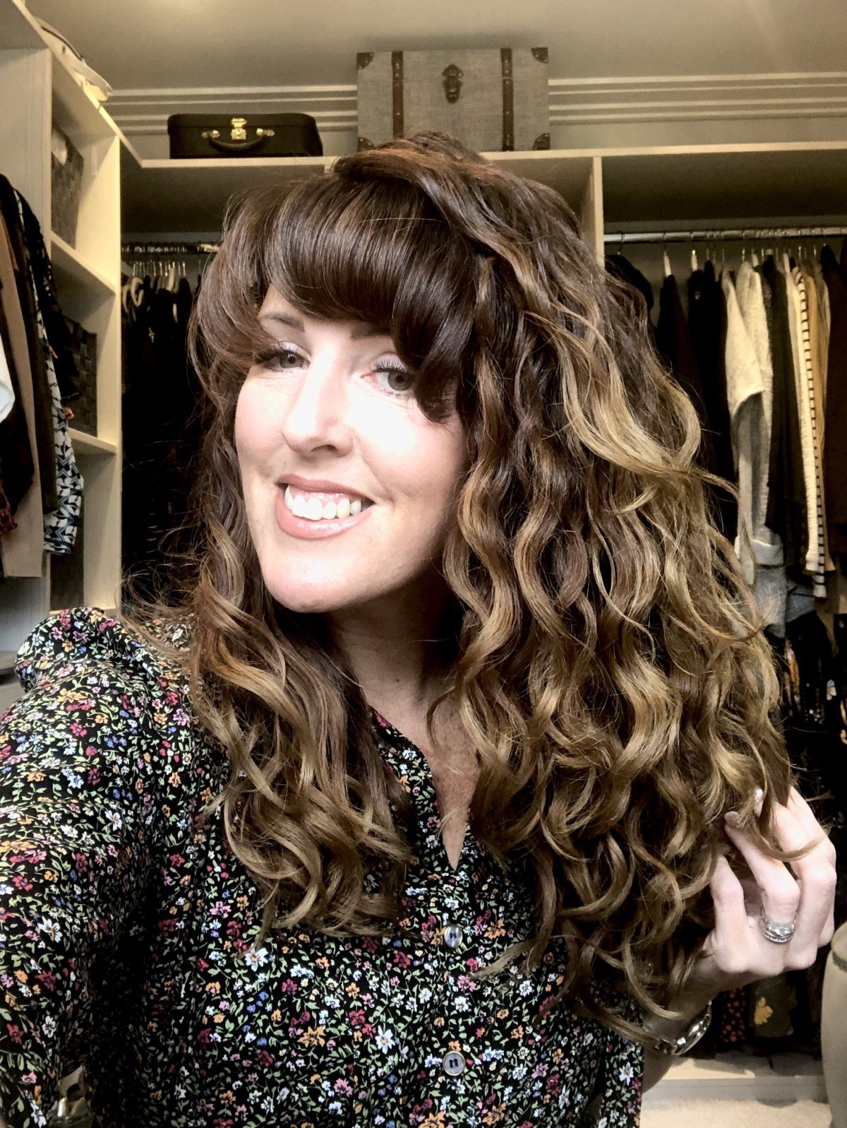 Donna Vallance at Like Love Do Blog a Curly Girl method Blogger