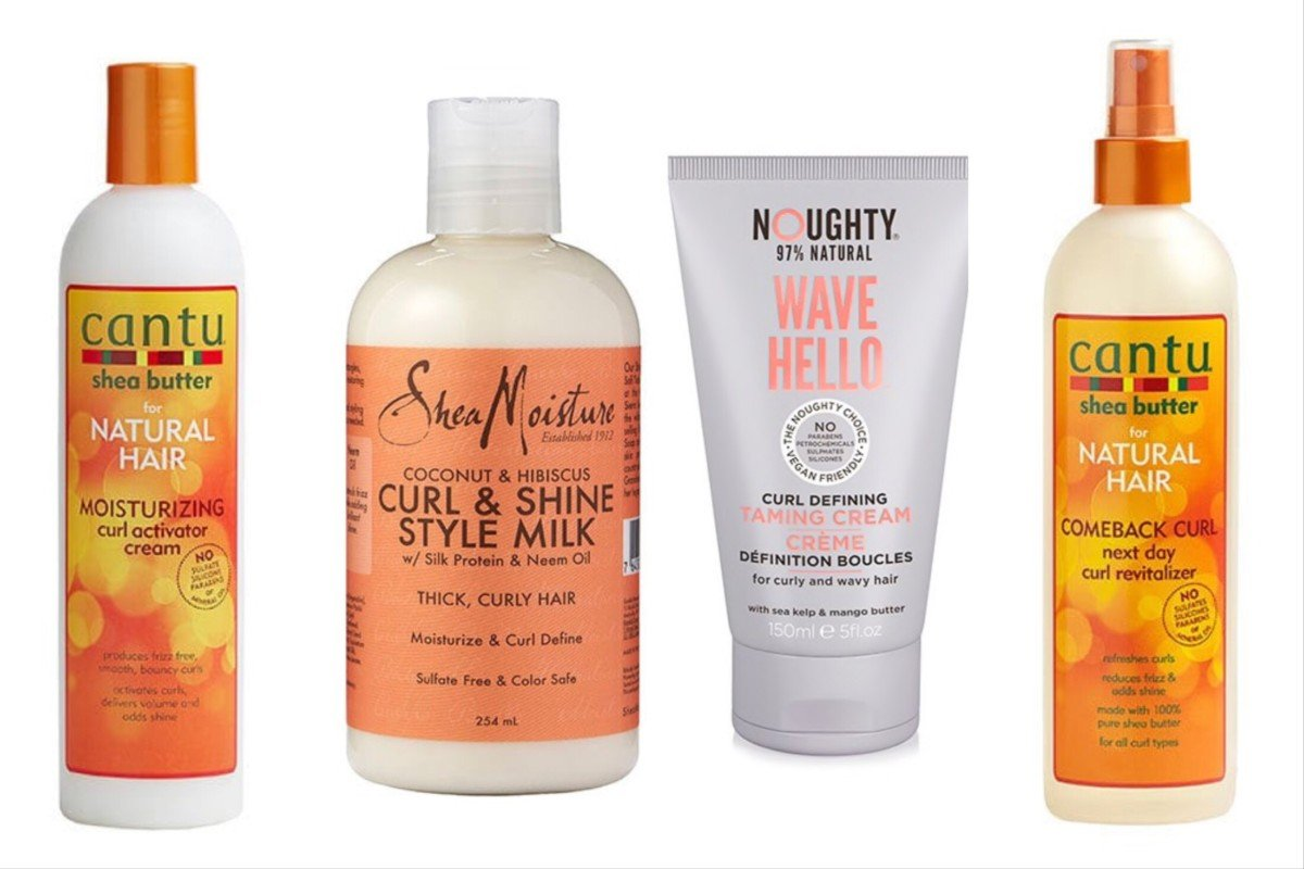 taming and anti frizz products that are curly girl approved in the UK from drugstores and supermarket