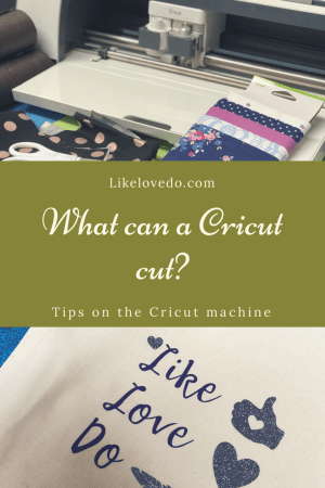 What can a Cricut cut? ideas and tips for the Cricut maker . Ideas for what you can make, design and cut with your Cricut which can be used for all of your sewing crafts, paper crafts and scrapbooking