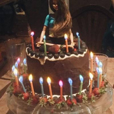 Yoga Paleo Birthday Cake