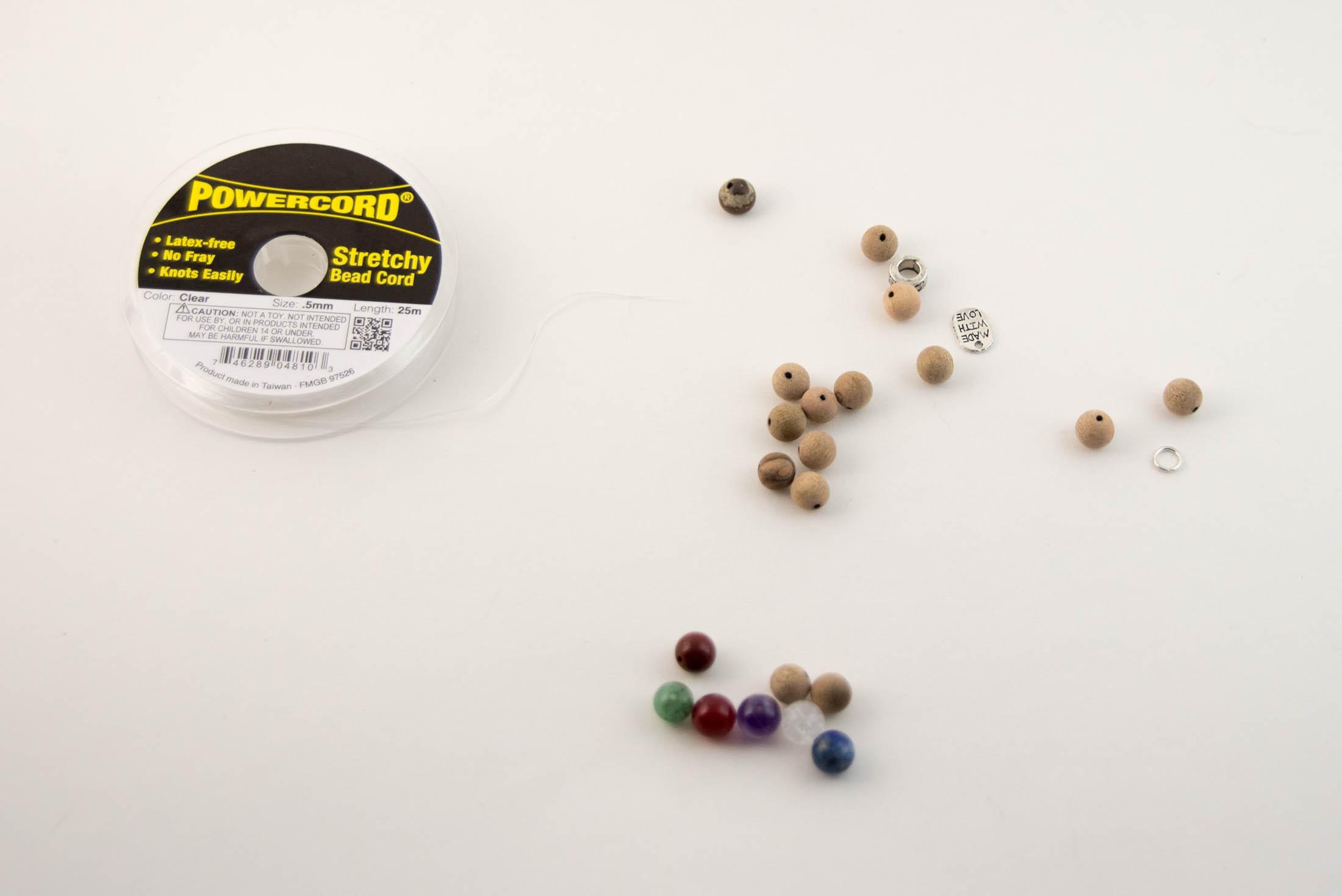 chakra bracelet materials