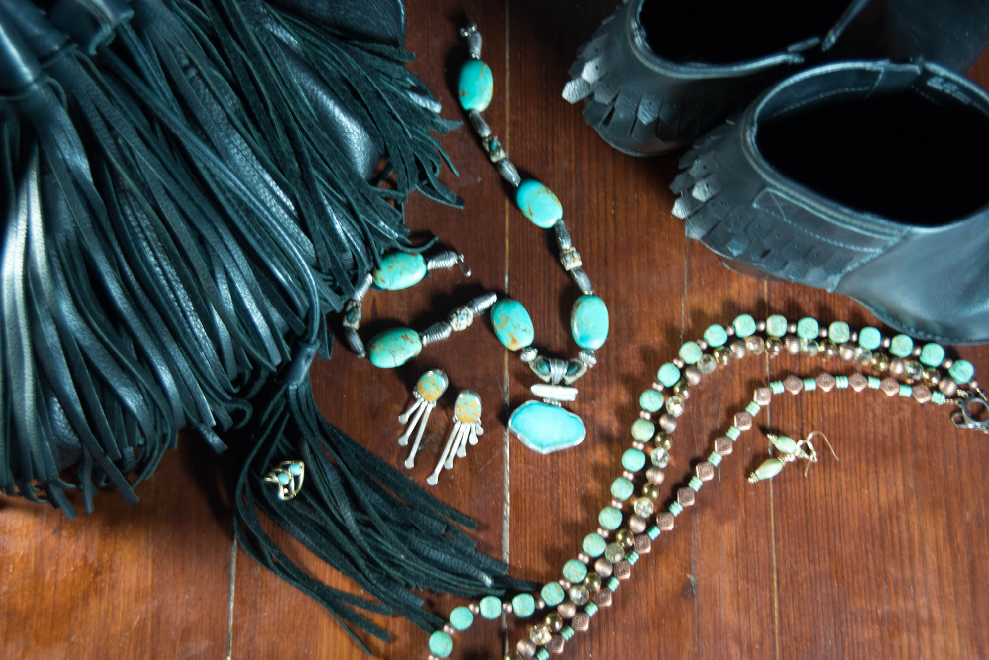 how to pair turquoise jewelry