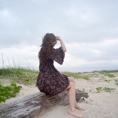 Floral Boho Dress Cover-Up