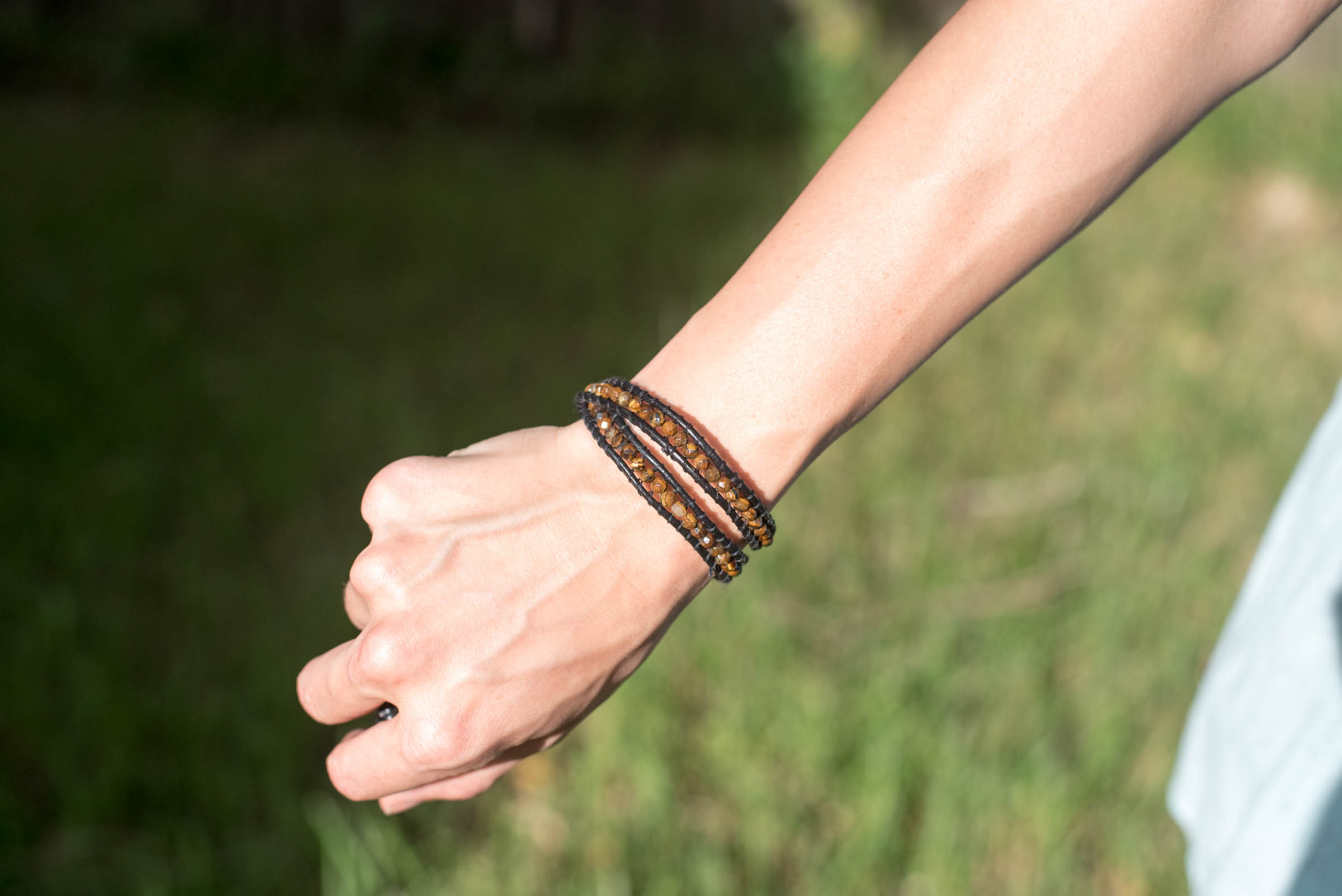 diy double wrap bracelet