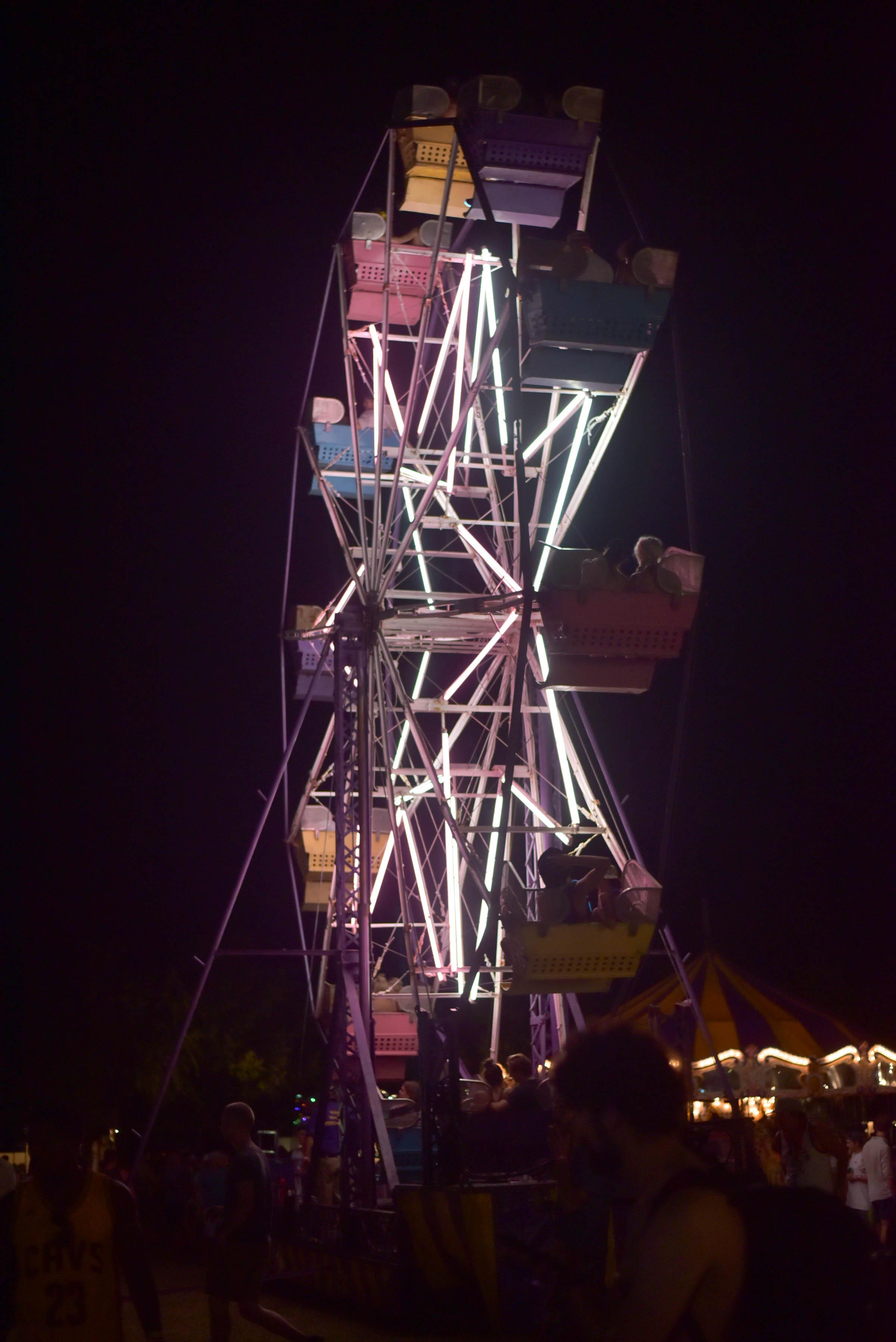 float fest ferris wheel