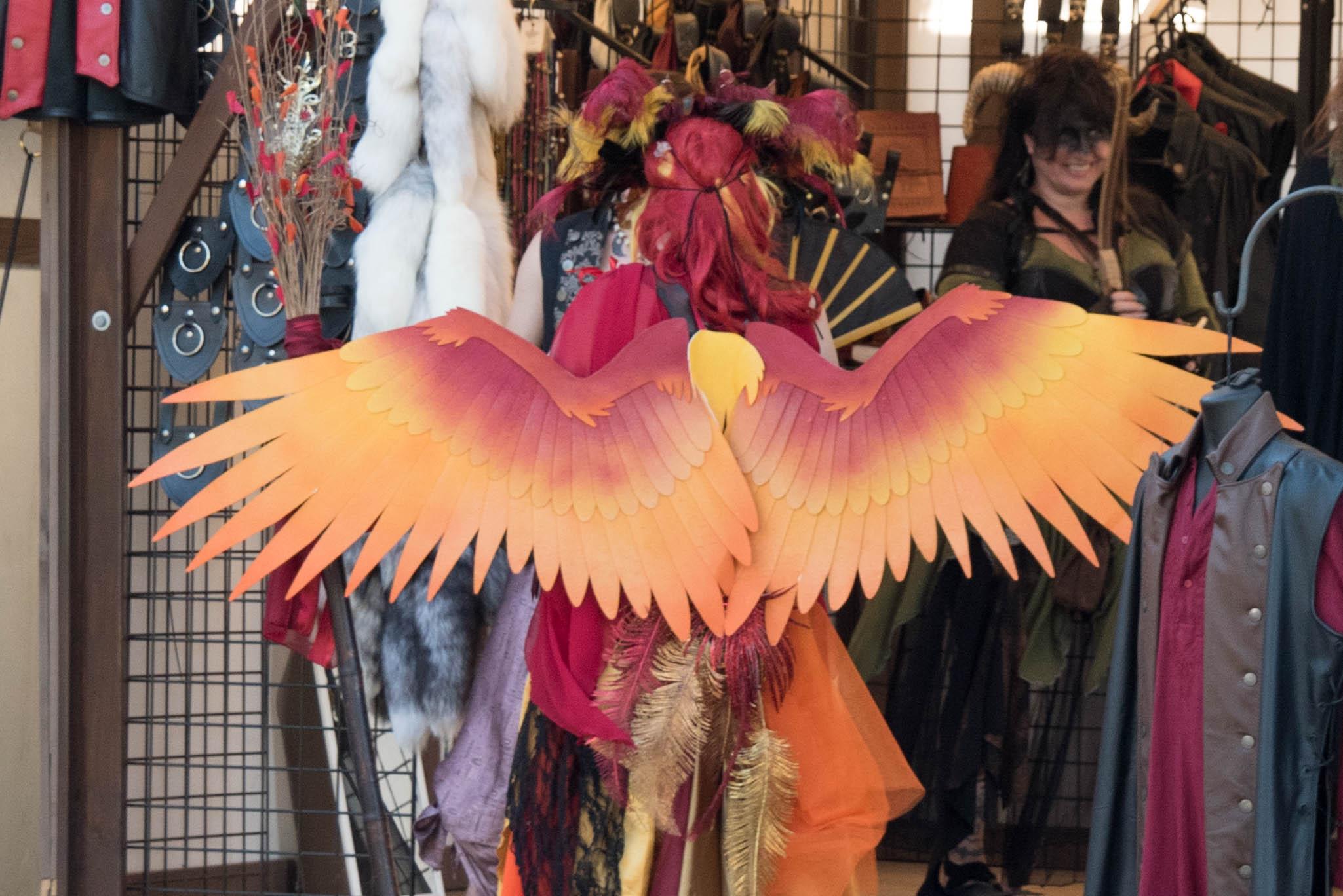 renaissance festival phoenix wings
