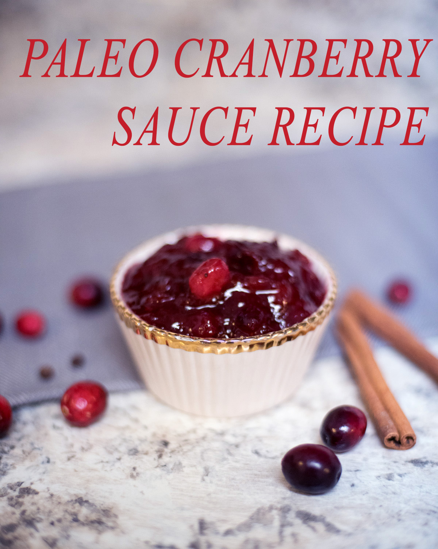 paleo cranberry
