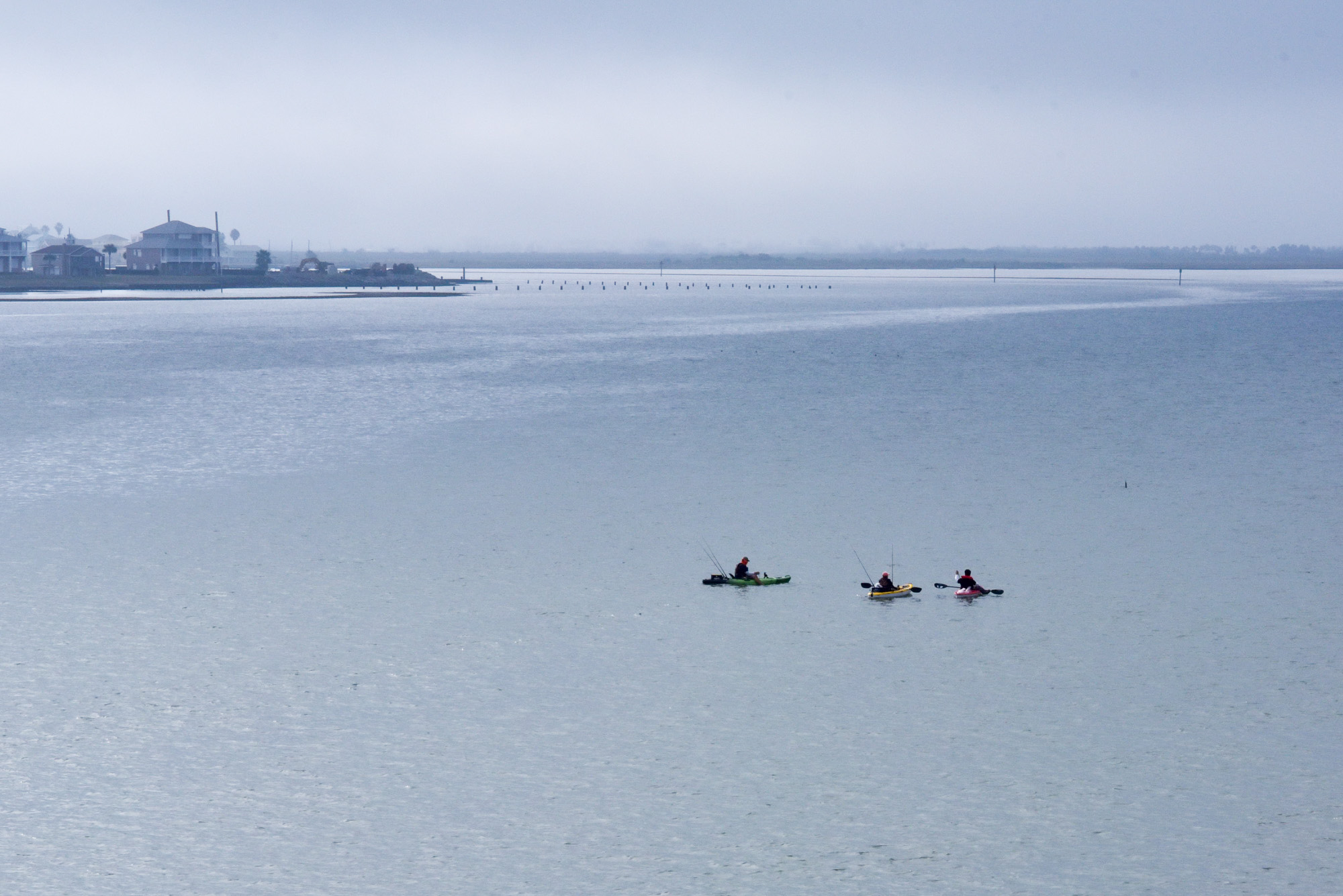 galveston kayaking
