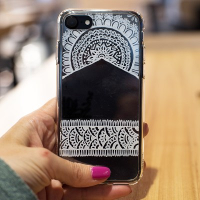 DIY Henna Phone Case