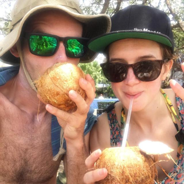 Feeling coconutty with Chris in Tamarindo last week  hellip