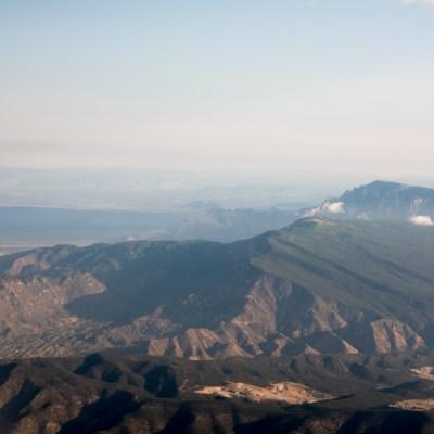 Views from the Window Seat: Santa Fe Flight