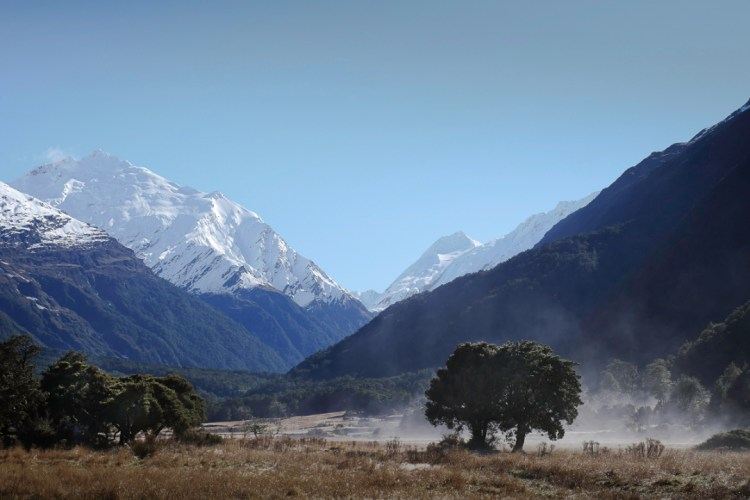 Mt Bevan, West Matukituki Valley, Mt Aspiring National Park, New Zealand