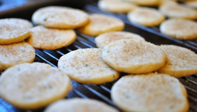 Lemon Basil Cookies with your {bits & pieces}