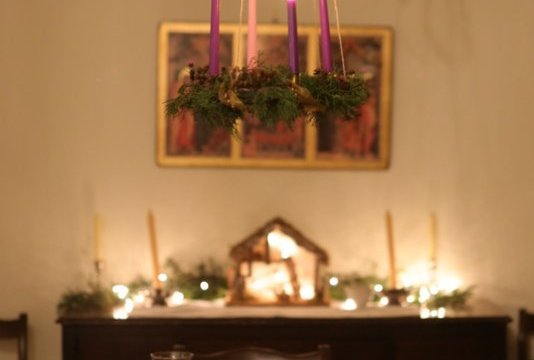 {pretty, happy, funny, real} ~ living Advent at our house