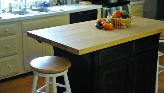 Kitchen Island DIY — the rehab of the rehab!