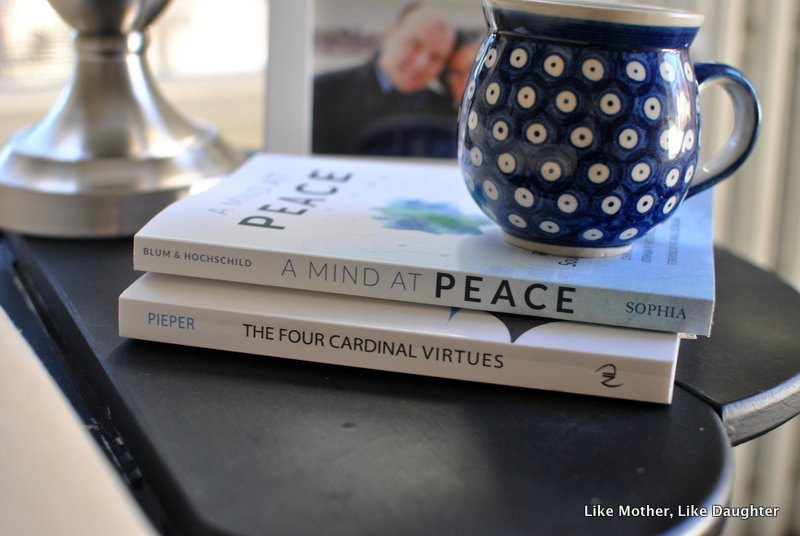 {bits & pieces} ~ Like Mother, Like Daughter ~ Lenten reading
