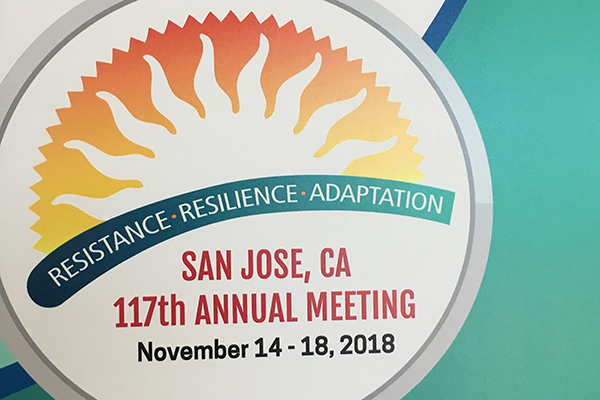 American Anthropological Association Annual Meeting – November 16, 2018