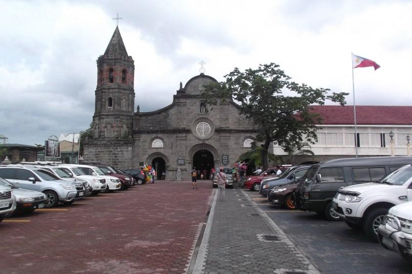 The church from afar