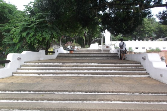 Wide steps