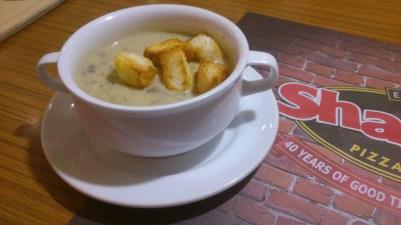 Mushroom Soup, Php 75.00
