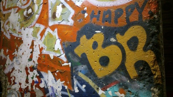 (Detail) Front of the Berlin Wall Section #22