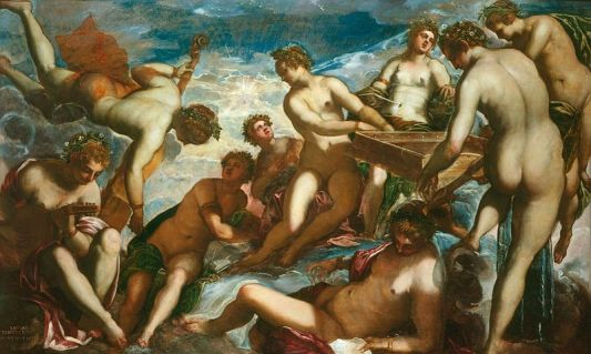 The Muses by Tintoretto