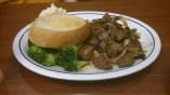 Sirloin Steak Tips Dinner, Php 595.00