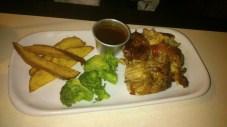 Mahalo Roast Chicken (1/4), Php 338.00