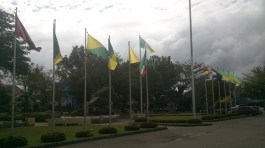 Flags by our fathers