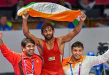 bajran punia gets gold at asian games