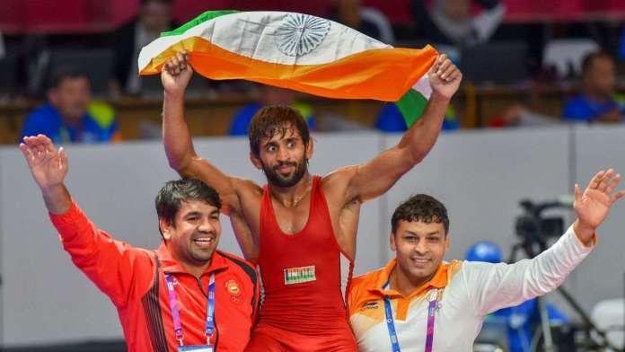 bajran punia gets gold at asian games