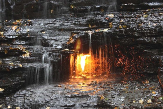 Eternal Flame Falls, Orchard Park, New York