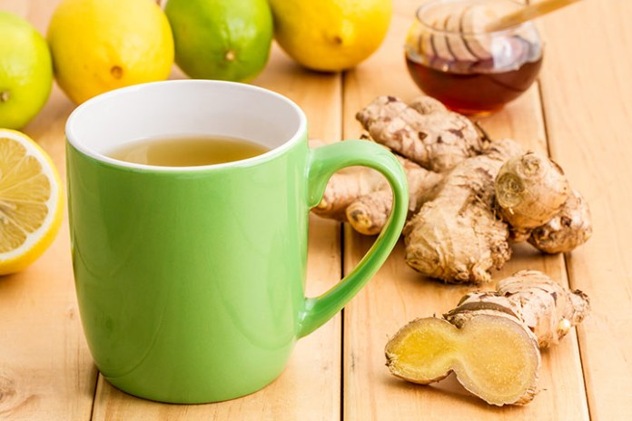 ginger and ginger tea