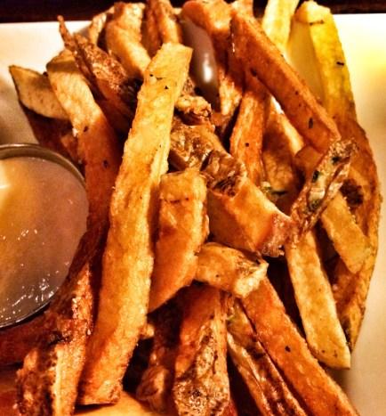 Garlic Herb Fries