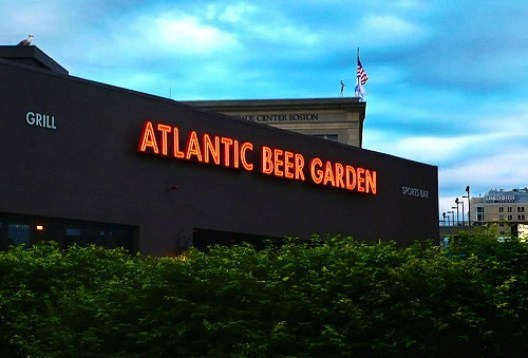 Atlantic Beer Garden - Photo Credit http://www.hubnightlife.com/