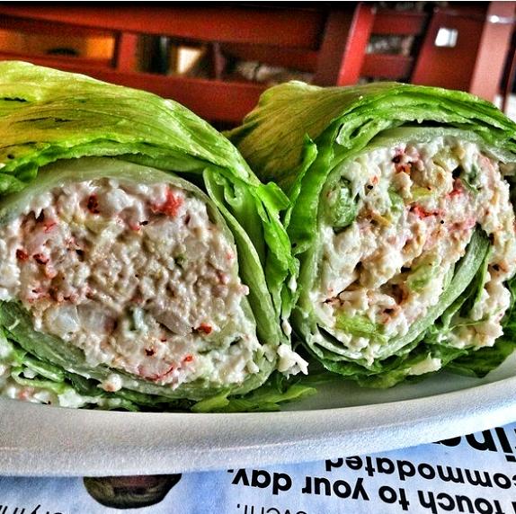 Low Fat Lobster Salad