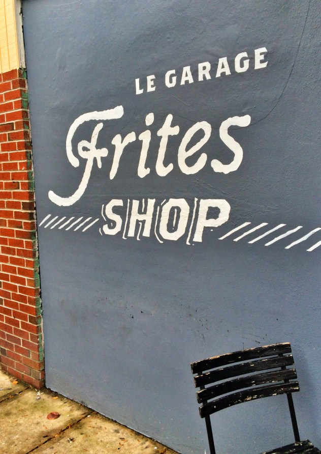 Le Garage Frites Shop
