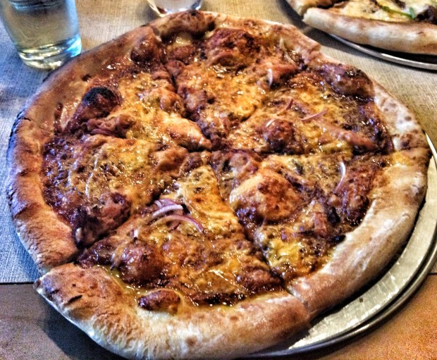 BBQ Bacon Pizza