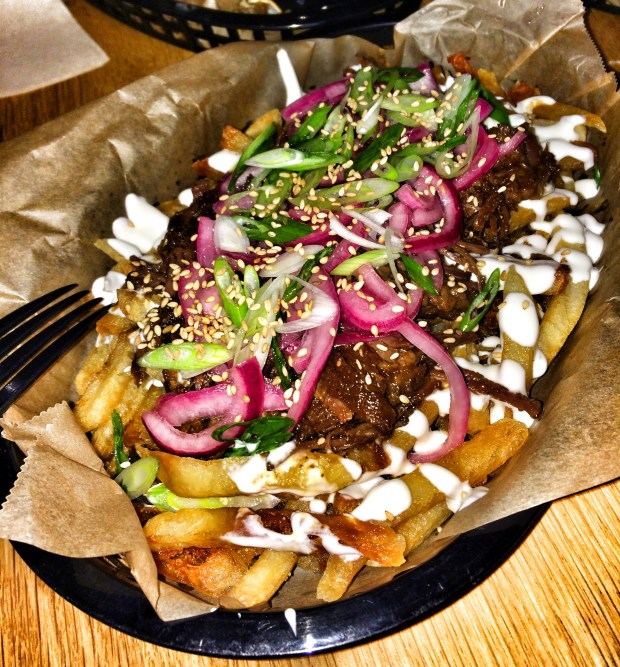 Korean Short Rib Fries