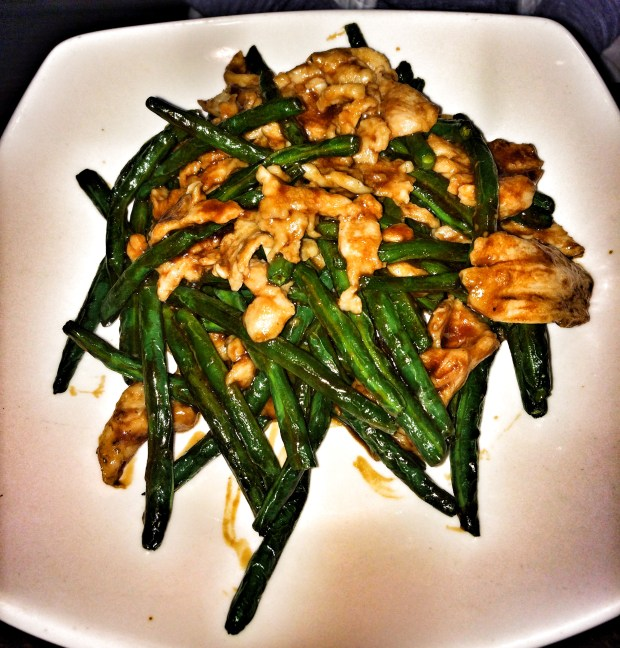Chicken & String Beans