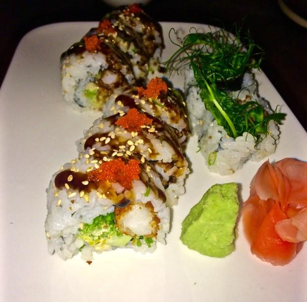 Coconut Shrimp Roll