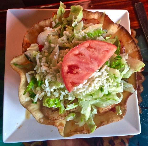 Fajitas Taco Salad