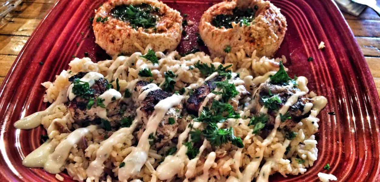 Chicken Kebab Platter