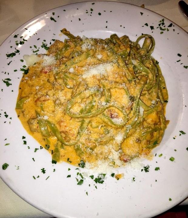 Fettuccine Verdi alla Bolognese