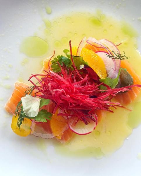 Scottish Salmon Crudo