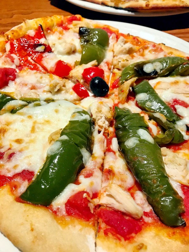 Chicken Pepper Pizza