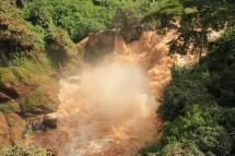 Bodies of Rwanda Waterfall