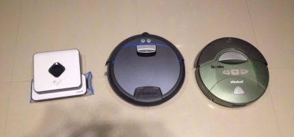 三機救婚姻:掃地機器人 (iRobot Roomba/Braava/Ememe/小米)